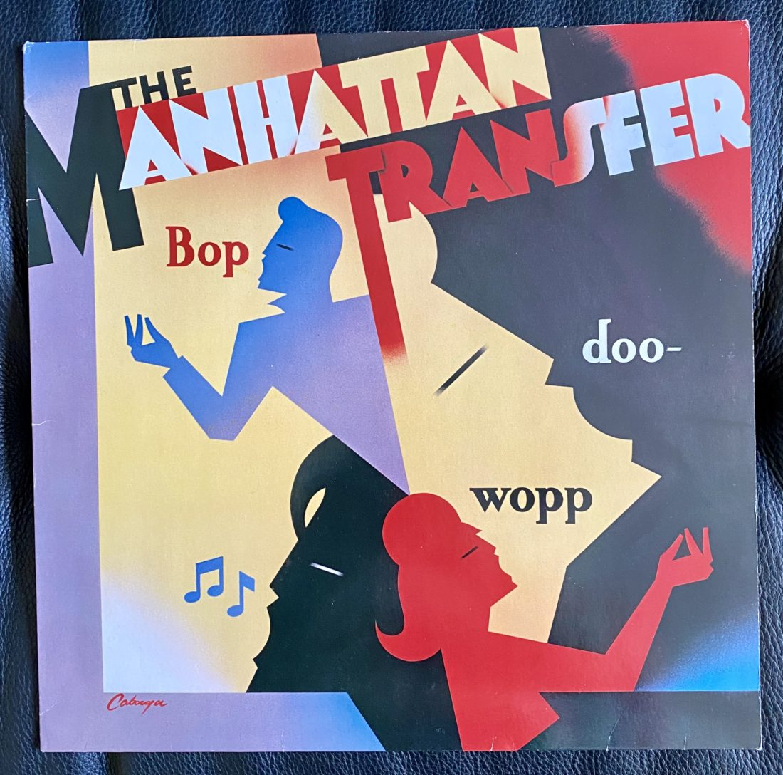 The Manhattan Transfer Bop doo-wopp LP