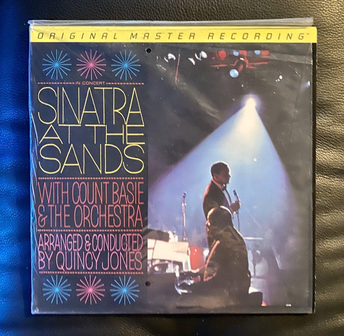 Sinatra at Sands MoFi 2LP