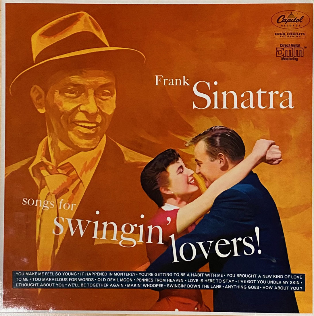 Sinatra You Make Me Feel So Young remastered LP