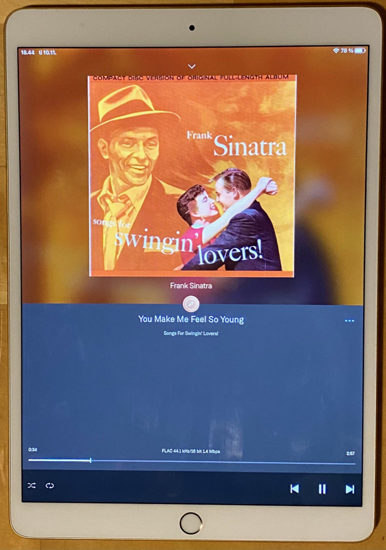 Sinatra You Make Me Feel So Young CD rip