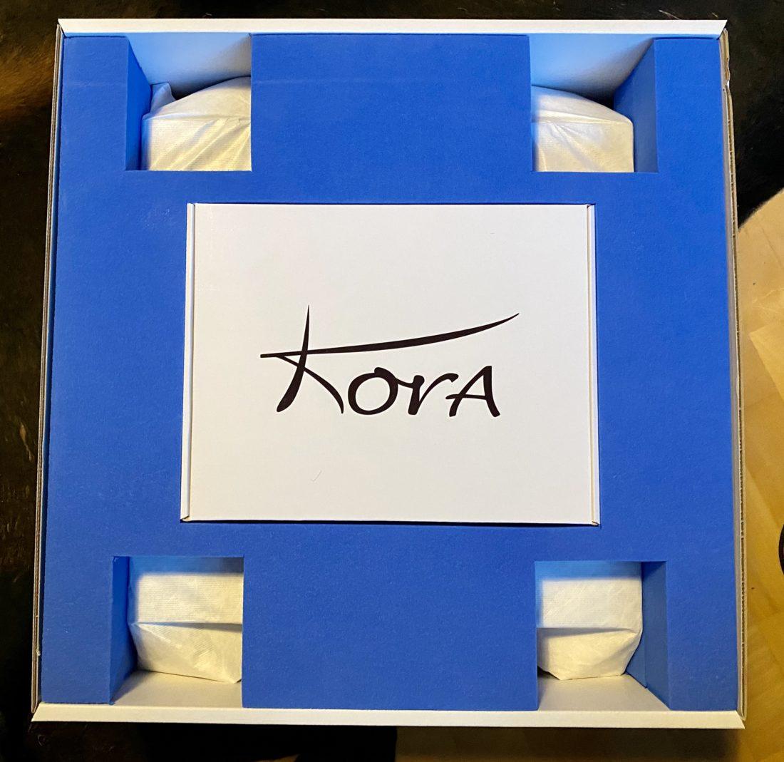 Kora TB 400 inner box opened