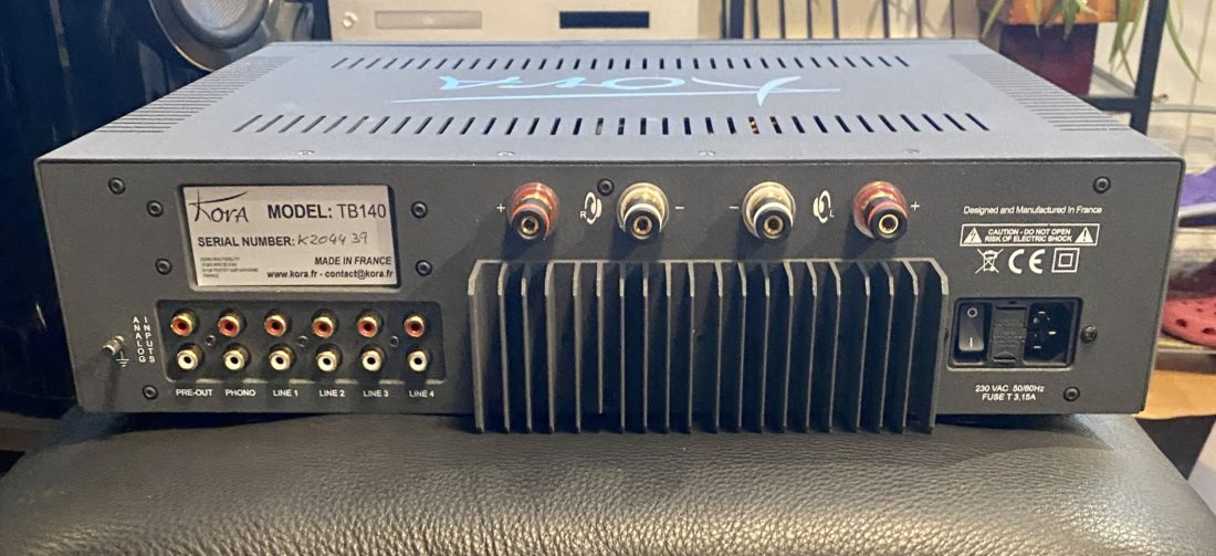 Kora TB-140 back panel