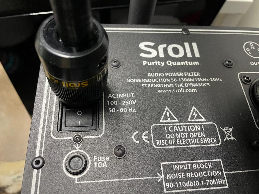 Sroll Power filter specification text