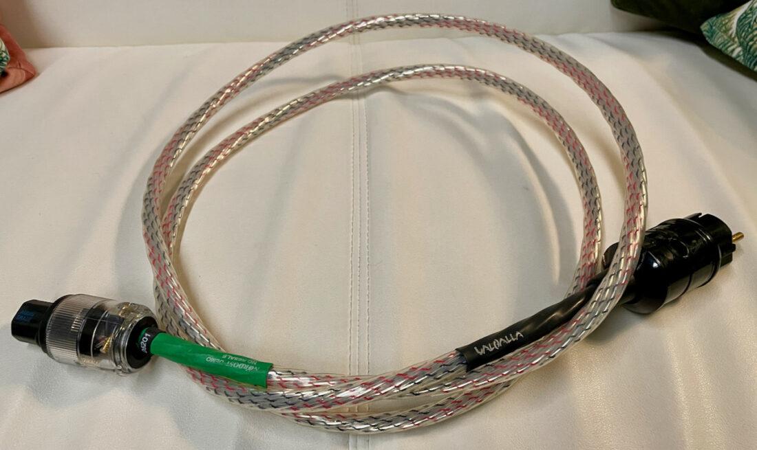 Nordost Valhalla (v1) Power Cord 2m